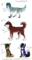 Scenedog Adopts 2 CLOSED by CrossHound213