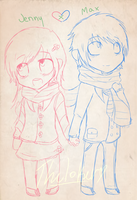 Jenny X Max by TheJokersCards
