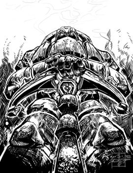 50 Day Sketches. #8: League Of Legends by PacoSantoyo