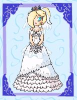 rosalina bride by ninpeachlover