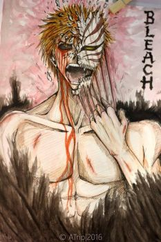 Ichigo versus his inner demons by CornandCucumber