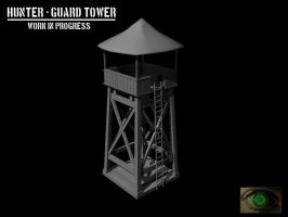 Hunter - Guard Tower WIP by mhofever