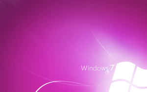 Windows 7 Ligth Violet by CaHilART