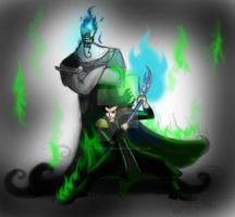 Hades and Loki get up to mischeif by Mad--Munchkin