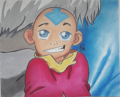 Aang by Artsanpuc101