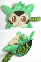 Chespin plush coin purse