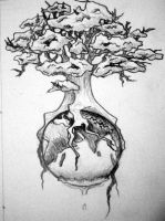 Tree of Life 3 Pencil by fraggle-rokk