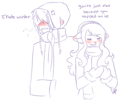 I Hate Winter by LittleMacarons