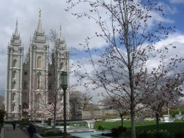 LDS Utah Temple by Myrdrin