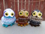 Tiny Owls by bandotaku