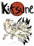 .:Kitsune:. by Porcelain--Hearts