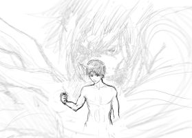 'The power inside me' Shingeki no Kyojin sketch by Pureadimelograno