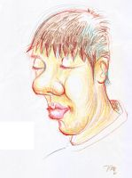 Caricatures-boy by tilenti