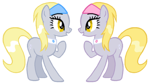 Derpy Twins 2 by Durpy