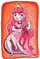 Princess Bubblegum by rynarts