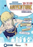 Aniventure'08 Poster by Rikae