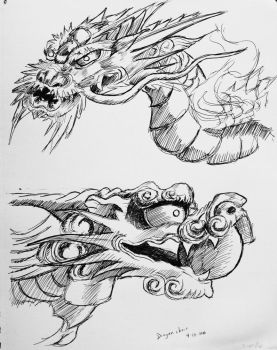 Dragon chair sketch by msilvestre