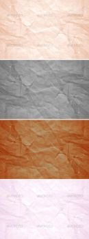 Wrinkled Paper Texture Pack by graphex