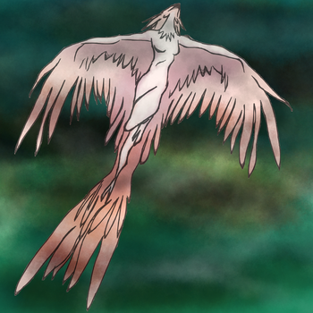 Flying thing (Harpy) - Damurosketch by SusuSketches