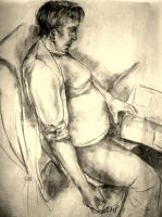 Study of my mum by MarciP