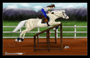Dez and Kimber - SJ Training by Baringa-of-the-Wind