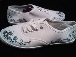 painted shoes by keopsa