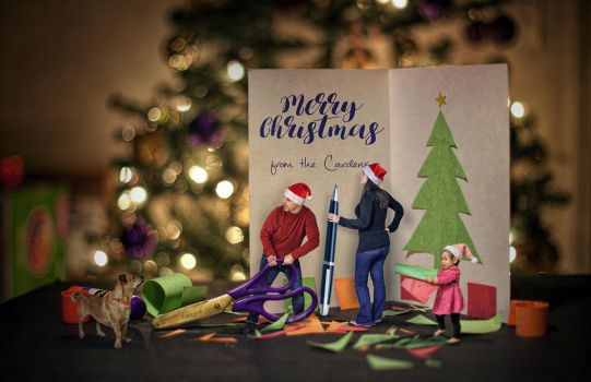 Family Christmas Card by kevron2001