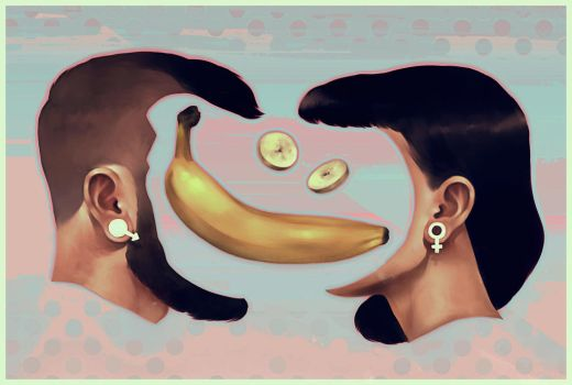 Banana Split by andrahilde