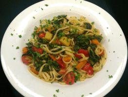 Winter Vegetable Pasta by PrYmO-ART