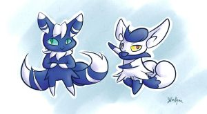 Meowstic by PictoShaman
