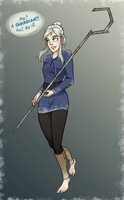 ROTG - Jack Frost genderbend by MidoriEyes