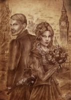 Steampunk  London commission by Agregor