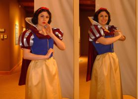 Snow White at the Museum by sadwonderland