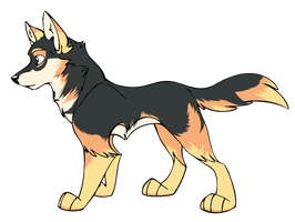 :Wolf Adopt:8:CLOSED: by NightmareAdoptables