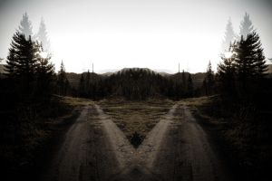 On the Road to the Shadowland III by UlfStubbe