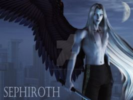 Sephiroth for shingorengeki by 3D-Fantasy-Art