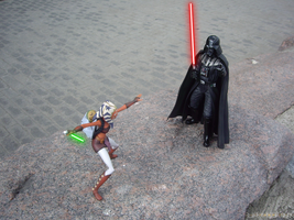 Ahsoka VS Vader (photo 1) by Lake333GLD