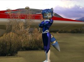 First 3D Pic - Krystal by HectorNY