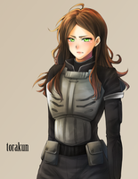 Commission: Brunette by torakun14