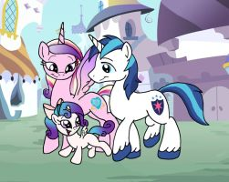 Family Trot by DragonBlood6400