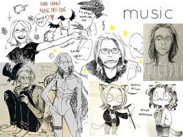 Steven Wilson - funny doodles by thecrowkid
