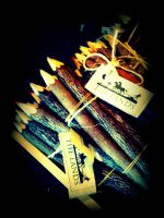 Wooden Pencils by aWorldofHope