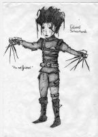 Edward Scissorhands by Amadrierith