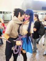 Otakuthon 2014 - Giving a kiss by SaskeyAVENGED