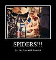 SPIDERS!!! by JohntheFishLovesCurt