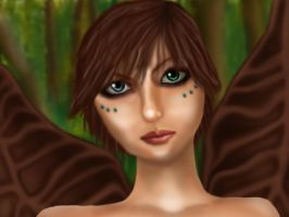Wood Fairy by dabluetouch
