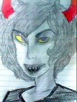 Gamzee from Homestuck by SketchPaper