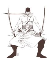 Zoro Final Pose by Yami08