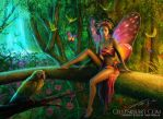 Exotic Butterfly by Cellesria