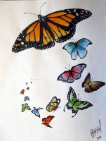 Butterfly Flash Page by StevenWorthey